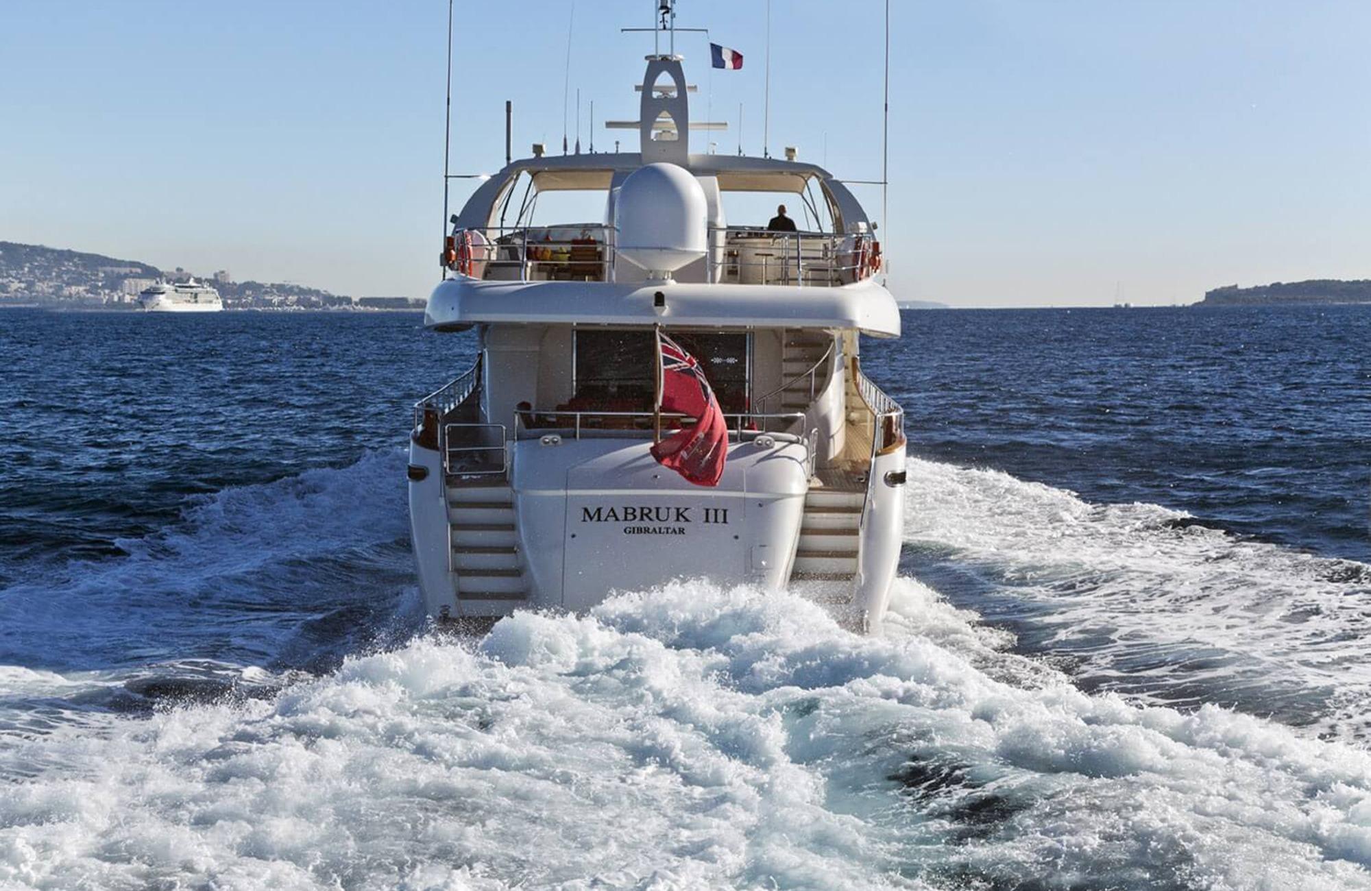 Notika luxury yacht Mabruk III