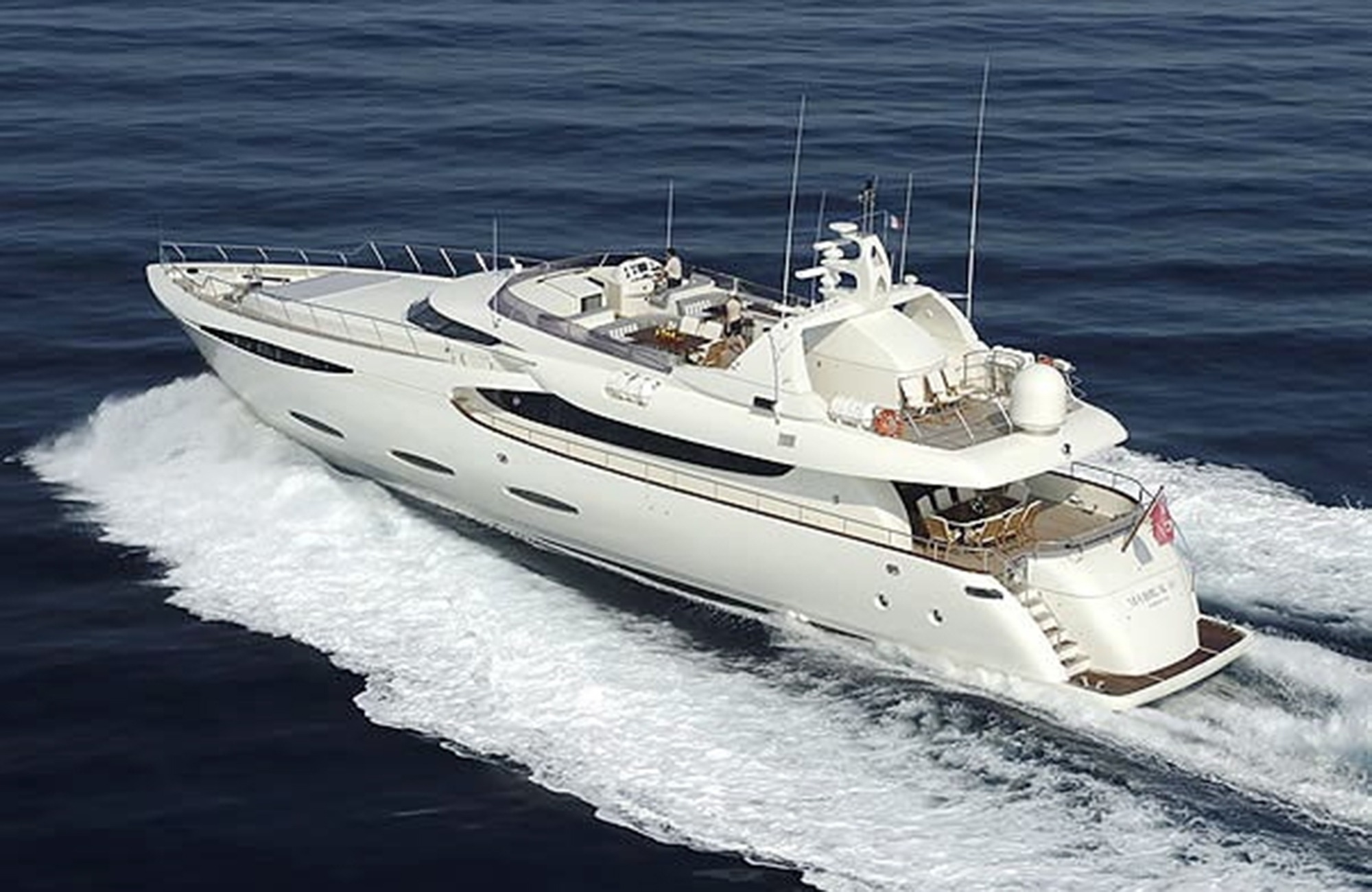 35m Mabruk III is a mini-superyacht